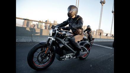 Nueva York: Harley Davidson presenta su primera moto eléctrica