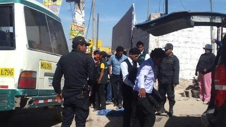 Arequipa: hijo de cobradora de combi fallece tras caer de vehículo