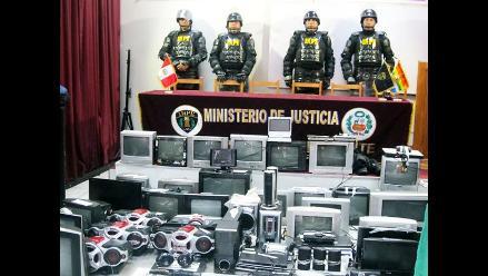 Huaraz: incautan armas punzocortantes, celulares y artefactos en requisa