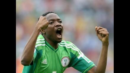 Con un gol de Musa Nigeria empató rápido el encuentro ante Argentina