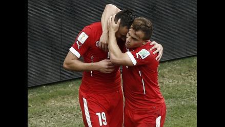 Honduras vs. Suiza: Rojos demuestran calidad y chocarán con Argentina