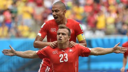 Suiza vence 3-0 a Honduras y pasa a octavos de final de Brasil 2014