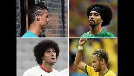 Brasil 2014: Los peinados y cortes más exóticos del Mundial