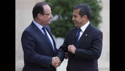 Presidente Ollanta Humala realizará visita a Francia