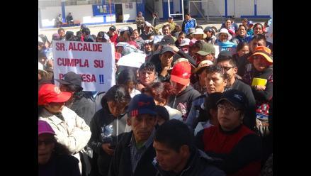 La Oroya: padres de familia exigen que culminen construcción de colegio