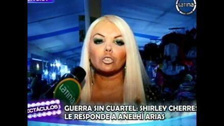 Shirley Cherres demandará a Anelhí Arias