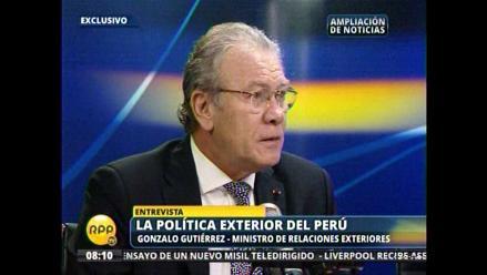 Gutiérrez: Nuestra frontera terrestre concluye en el Punto Concordia