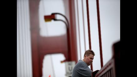 EEUU: Puente Golden Gate tendrá una red para evitar suicidios