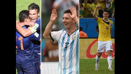 Los diez mejores goles de la primera fase del Mundial Brasil 2014