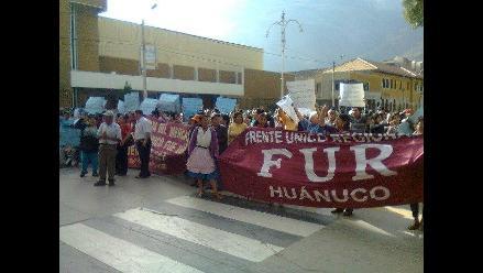 Huánuco: Frente único Regional respalda sanción a congresista Yovera