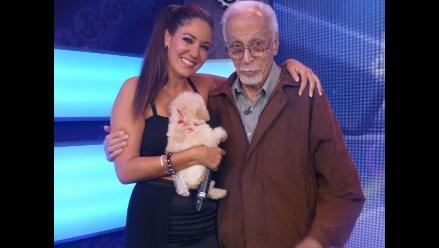 Tilsa Lozano lloró en reencuentro con su abuelo
