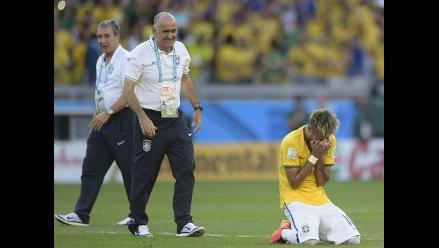 Neymar rompe en llanto tras agónica clasificación de Brasil a cuartos