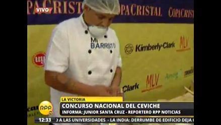 Primer Campeonato del Cebiche en restaurante ´El Barrunto´ de La Victoria