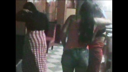 Huancayo: intervienen a 32 meretrices entre ellas dos menores de edad
