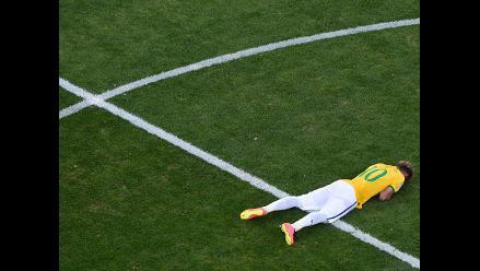 Neymar es duda en Brasil para enfrentar a Colombia en cuartos de final