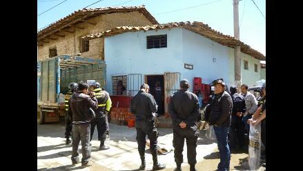 Efectivos intervienen prostíbulo en Ayacucho