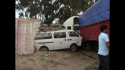 Chiclayo: triple choque en la Panamericana Norte deja 12 personas heridas