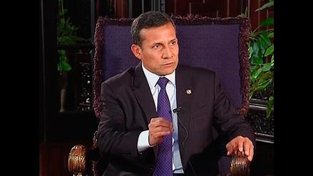 Ollanta Humala llegó a Francia para foro internacional