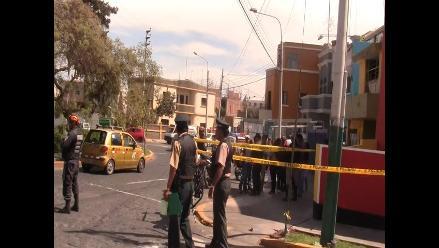 Dos heridos de bala deja balacera frente a la municipalidad de Nasca