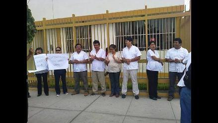 Huaraz: médicos realizan vigilias como medida de protesta