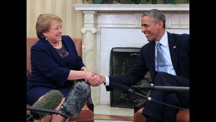 Obama dice que ve a Chile como modelo de democracia en Latinoamérica