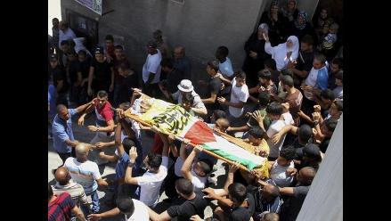 Cisjordania: Matan a menor palestino en operación del Ejército israelí