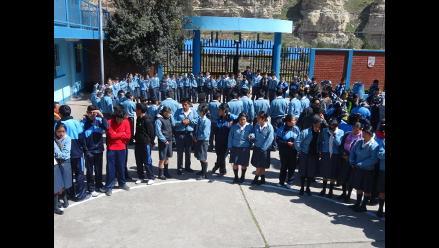 La Oroya: registran seis denuncias de violencia contra escolares