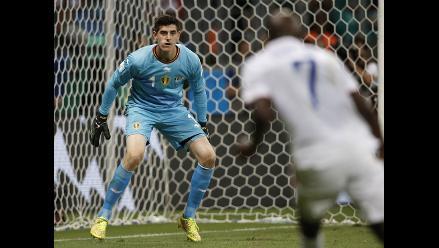 Bélgica: Thibaut Courtois ya palpita el duelo ante Argentina