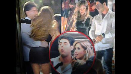 Sebastián Lizarzaburu olvida a Vania con Melissa Paredes