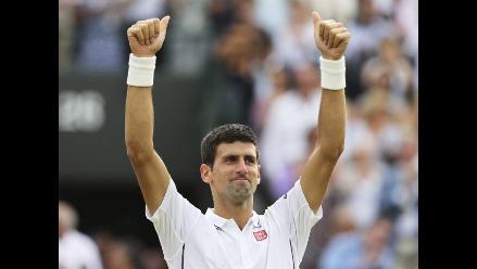 Novak Djokovic vence a Cilic y va parejo rumbo al título en Wimbledon