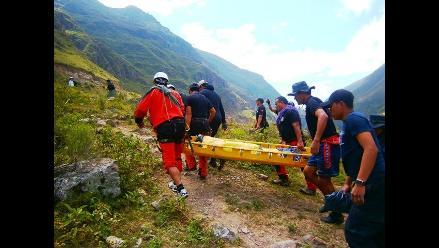 Arequipa: joven queda atrapado en cerro Corontorio