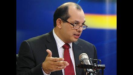 Castilla: Calificación de Moody´s reconoce política económica de Humala