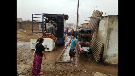 Trujillo: 20 viviendas inhabitables por fuerte oleaje en Buenos Aires