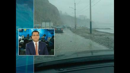 MML ordena el cierre inmediato de la Costa Verde ante fuerte oleaje