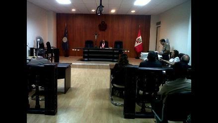 Ayacucho: presidente regional y funcionarios acudieron a juicio oral