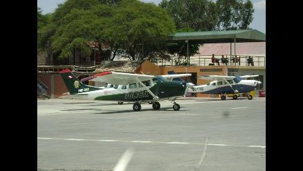 Ica: Sunat incauta avionetas y motores sin declaratoria de importación