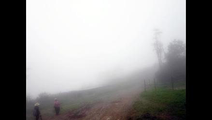 Senamhi: sensación de frío se intensificará el fin de semana en Arequipa
