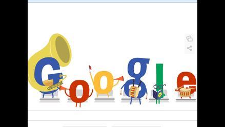 El doodle del sábado dedicado a una sinfonía por cuartos del Mundial