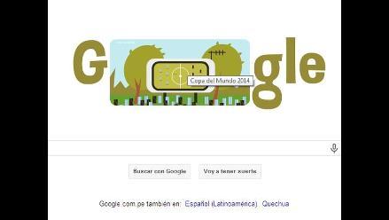 Google lanza nuevo doodle mundialista ad portas del Argentina-Bélgica