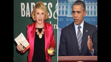 Conductora de TV dice que Obama es gay