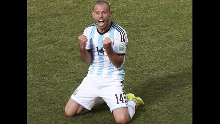 Javier Mascherano: Hemos cumplido el primer objetivo para Argentina
