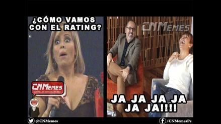 Los memes tras aparición de Beto Ortiz junto a Magaly Medina