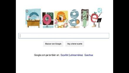 Google celebra el Día del Maestro con colorido ´doodle´