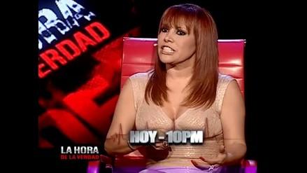 EVDLV: Magaly Medina admite que si consumió cocaína