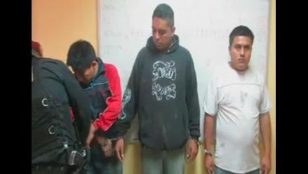 Huaral: capturan a banda que asaltaba a universitarios