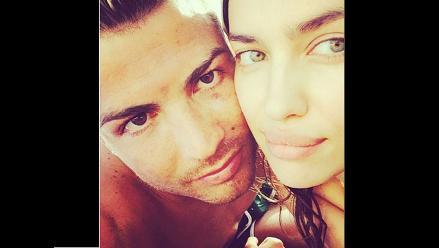 Cristiano Ronaldo se olvida del Mundial de Brasil con Irina Shayk