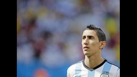 Lesión de Di María no es tan grave y podría jugar la final del Mundial