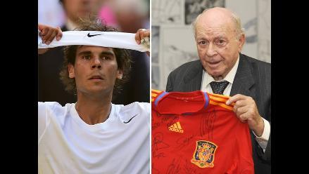 Rafael Nadal afirma que Alfredo Di Stéfano es una leyenda del fútbol