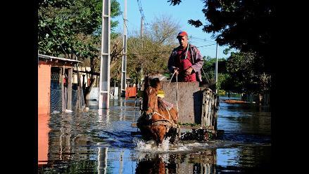 Comienza el descenso de las inundaciones en Asunción