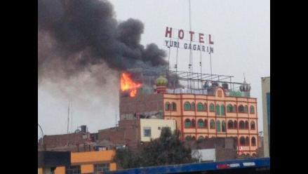 El Agustino: se registra un incendio muy cerca a Puente Nuevo